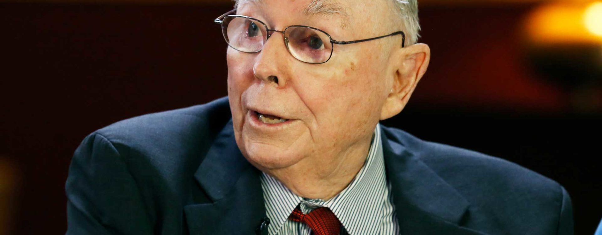 Charlie Munger will not take questions at Berkshire's annual meeting